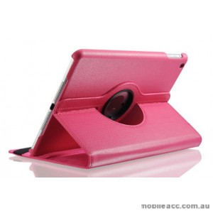 360 Degree Rotating Case for Apple iPad 10.2 inch 2019  Hot Pink