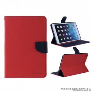 Mercury Goospery Fancy Diary Case for Apple iPad 10.2 inch 2019  Red
