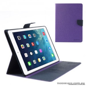 Mercury Goospery Fancy Diary Case for Apple iPad 10.2 inch 2019  Purple