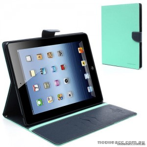Mercury Goospery Fancy Diary Case for Apple iPad 10.2 inch 2019  Mint Green