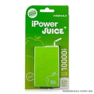 Momax iPower Juice Plus Dual Output Powerbank - Green