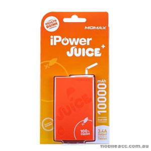 Momax iPower Juice Plus Dual Output Powerbank - Orange