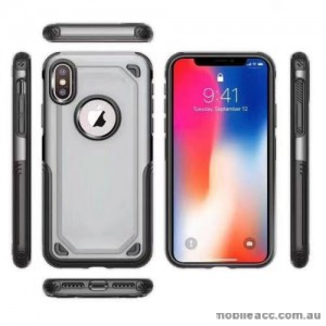 Anti-Shockproof Heavy Duty Case For Iphone XR 6.1'  Silver