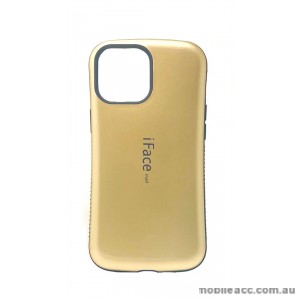 ifaceMall Anti-Shock Case For iPhone 13 6.1inch  Gold
