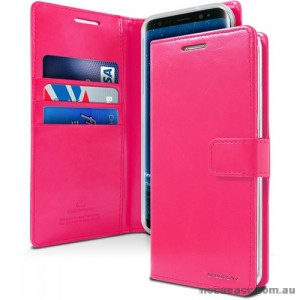 Mercury Goospery Blue Moon Diary Wallet Case For iPhone 13  6.1inch  Hotpink