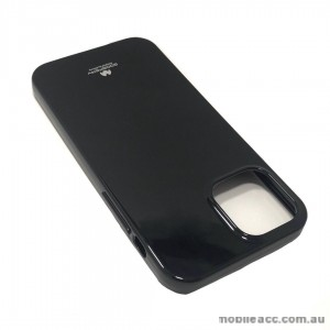 Korean Mercury TPU Jelly Case For iPhone12  6.1inch  Black