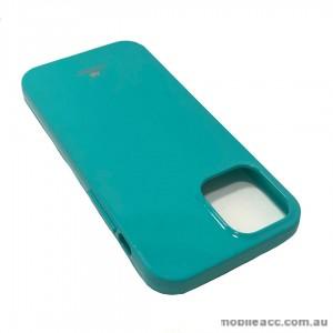 Korean Mercury TPU Jelly Case For iPhone12  6.1inch  Aqua
