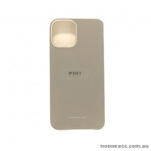 Genuine MOLAN CANO TPU Jelly Case For iPhone 12 6.1inch  Gold