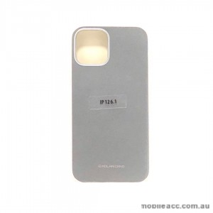 Genuine MOLAN CANO TPU Jelly Case For iPhone 12 6.1inch  Silver