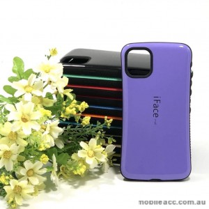 ifaceMall  Anti-Shock Case For iPhone 12 6.7inch  Purple