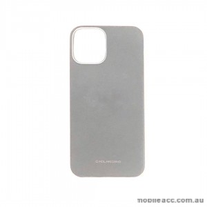 Genuine MOLAN CANO TPU Jelly Case For iPhone 12 6.7inch  Silver