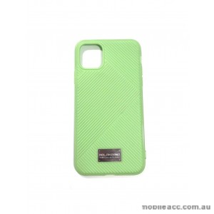 Genuine MOLAN CANO Jelline Bumper Back Case For iPhone11 Pro MAX 6.5'  Green
