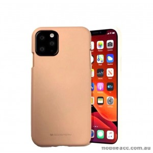 Genuine Goospery Soft Feeling Jelly Case Matt Rubber For iPhone11 Pro MAX 6.5' (2019)  Pink Sand