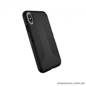 SPECK Presidio Grip Shockproof Heavy Duty Case for iPhone XS MAX  6.5'  BLK