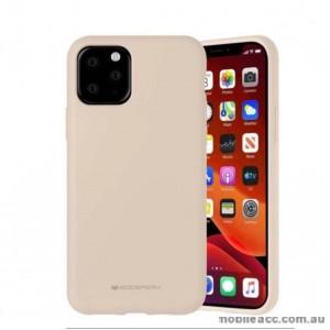 Genuine Goospery Soft Feeling Jelly Case Matt Rubber For iPhone11 6.1' (2019)  Stone