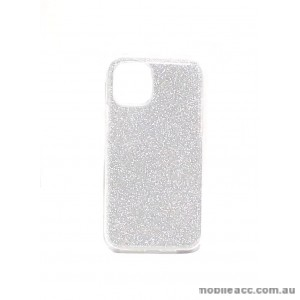 Bling Simmer TPU Gel Case For iPhone 11 6.1 inch  Silver