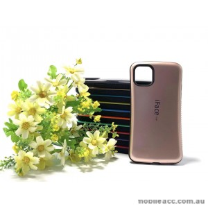 IfaceMall  Anti-Shock Case for iPhone 11 6.1'  Rose Gold
