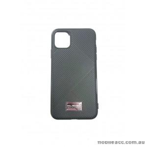 Genuine MOLAN CANO Jelline Bumper Back Case For iPhone11 Pro 5.8'  BLK