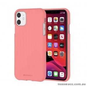Genuine Goospery Soft Feeling Jelly Case Matt Rubber For iPhone11 Pro 5.8' (2019)  Coral
