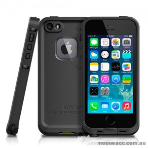 Genuine Lifeproof frē Waterproof Shockproof Case for iPhone 5/5S - Black
