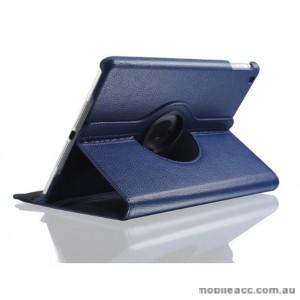 360 Degree Rotary Flip Case for New Ipad 9.7  2018  Blue