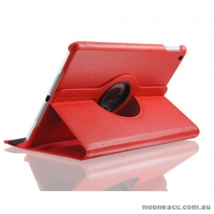 360 Degree Rotary Flip Case for New Ipad 9.7  2018  Red