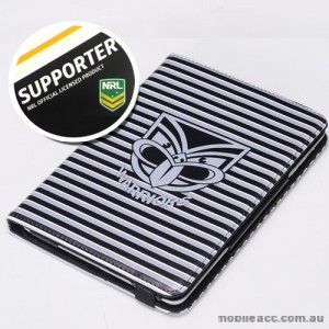 NRL Licensed New Zealand Warriors Wallet Case for iPad Air