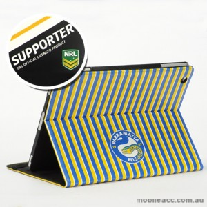 NRL Licensed Parramatta Eels PU Leather Wallet Case for iPad Air 2
