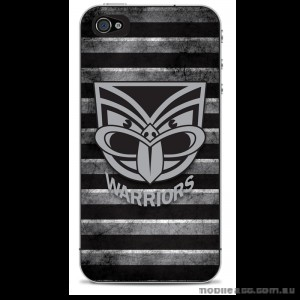NRL Licensed New Zealand Warriors Grunge Back Case for iPhone 4/4S