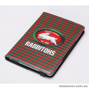 NRL Licensed South Sydney Rabbitohs Wallet Case for iPad Mini 1 2 3