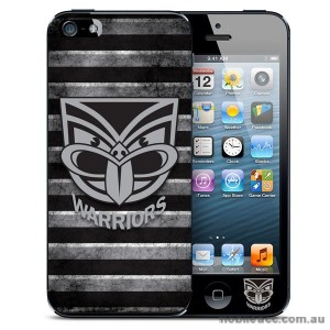 NRL Licensed New Zealand Warriors Grunge Back Case for iPhone 5/5S