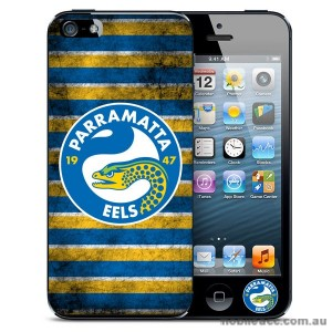 NRL Licensed Parramatta Eels Grunge Back Case for iPhone 5/5S