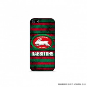 NRL Licensed South Sydney Rabbitohs Grunge Back Case for iPhone 5/5S