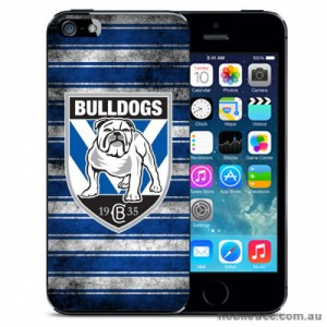 NRL Licensed Canterbury Bankstown Bulldogs Grunge Back Case for iPhone 5C