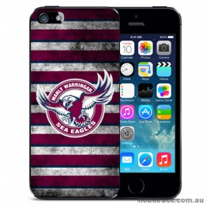 NRL Licensed Manly Warringah Sea Eagles Grunge Back Case for the iPhone 5C