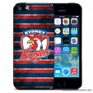 NRL Licensed Sydney Roosters Grunge Back Case for iPhone 5C