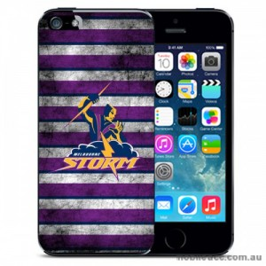 NRL Licensed Melbourne Storm Grunge Back Case for iPhone 5C