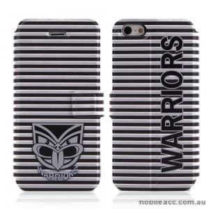 NRL Licensed New Zealand Warriors Wallet Case for iPhone 5/5S