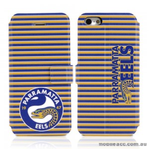 NRL Licensed Parramatta Eels Wallet Case for iPhone 5/5S