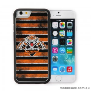 Licensed NRL Wests Tigers Back Case for iPhone 6/6S - Grunge