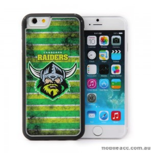 Licensed NRL Canberra Raiders Back Case for iPhone 6/6S - Grunge