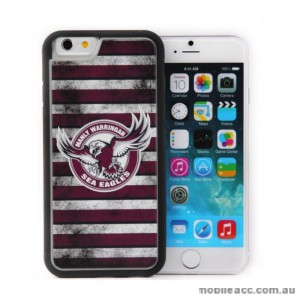 Licensed NRL Sea Eagles Back Case for iPhone 6/6S - Grunge
