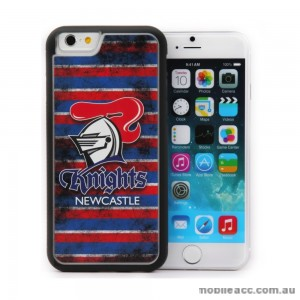 Licensed NRL Newcastle Knights Back Case for iPhone 6/6S - Grunge
