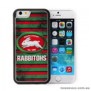 Licensed NRL South Sydney Rabbitohs Back Case for iPhone 6/6S - Grunge