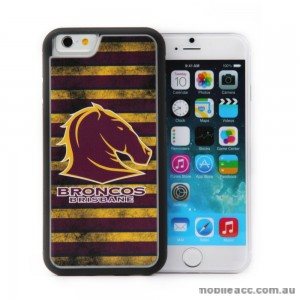Licensed NRL Brisbane Broncos Back Case for iPhone 6+/6S+