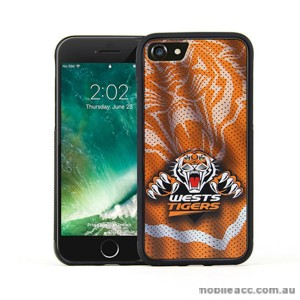 Licensed NRL Wests Tigers Grunge Jersey TPU PC 3D Case For iPhone 7 Plus