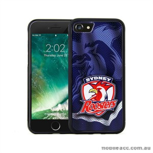 Licensed NRL Sydney Roosters Grunge Jersey TPU PC 3D Case For iPhone 7 Plus