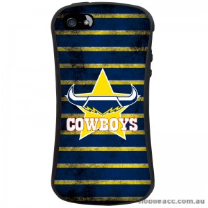 NRL Licensed North Queensland Cowboys Shockproof iFace Case for iPhone 5/5S