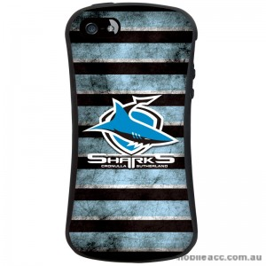 NRL Licensed Cronulla Sutherland Sharks Shockproof iFace Case for iPhone 5/5S
