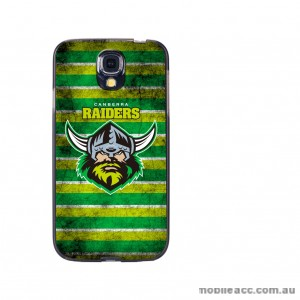 NRL Licensed Canberra Raiders Grunge Back Case for Samsung Galaxy S4